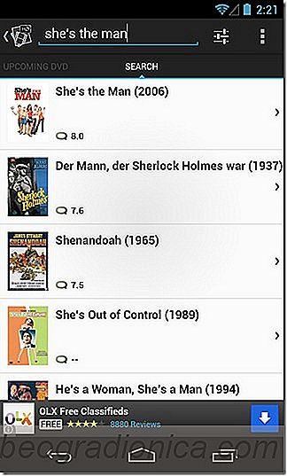Movie App HD é uma descoberta de filmes e aplicativo de