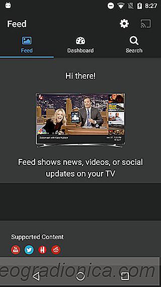 Cast Youtube Twitter En Reddit Feed Naar Chromecast