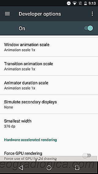 So deaktivieren Sie Animationen in Android [No Root]