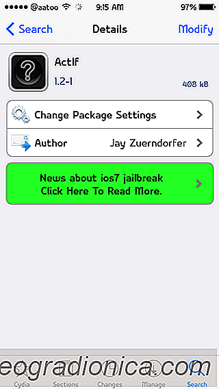 ActIf: Ajouter des actions conditionnelles (IF) à l'activateur Sur iPhone / iPad jailbreaké [Cydia]