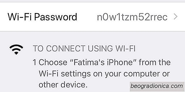 Como alterar a senha do iPhone Hotspot