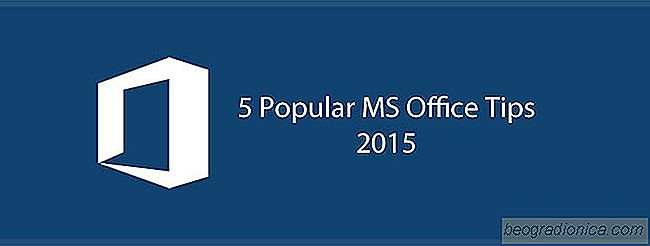 5 Populaire MS Office-tips vanaf 2015