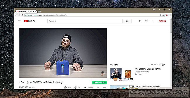 Hur man söker inuti en YouTube-video i Chrome