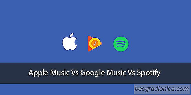 Services de diffusion de musique: Apple Music vs Google Play Musique Vs Spotify