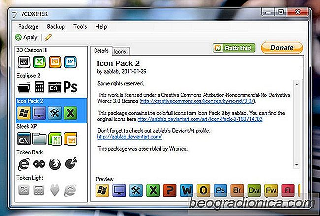 pacote de icones personalizados para windows 7