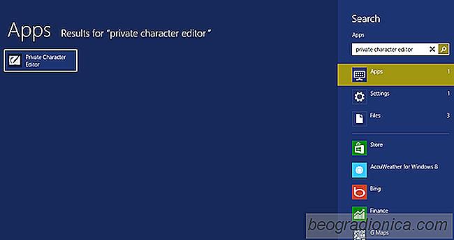 Crear símbolos personalizados en Windows con Private