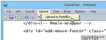 QuickPad es como un bloc de notas con la búsqueda de Google