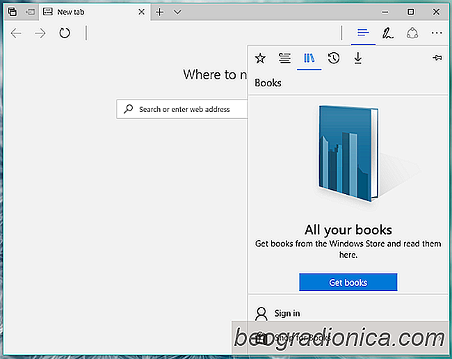 Como comprar e ler eBooks no Windows 10