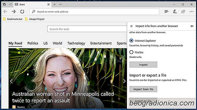 Comment exporter des signets à partir de Microsoft Edge dans Windows 10