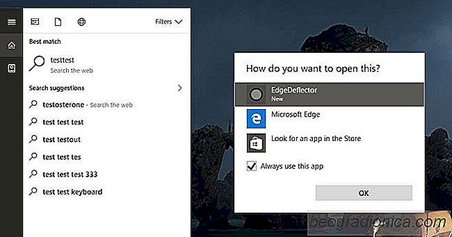 Cómo hacer que Cortana use su navegador predeterminado en Windows 10