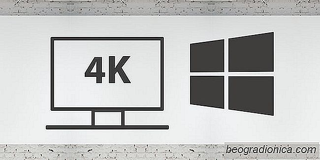 Cómo configurar un monitor 4K en Windows 10