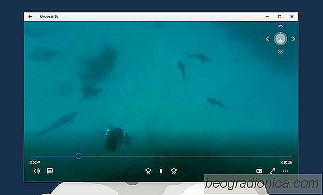 360 Video's in Windows 10 bekijken via de app Movies & TV