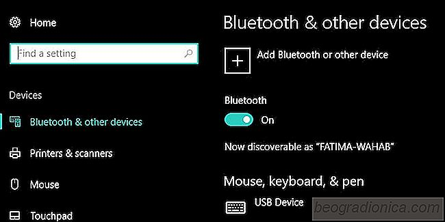 Cómo reparar la opción Bluetooth perdida en Windows 10