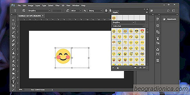 Emoji invoegen in Photoshop