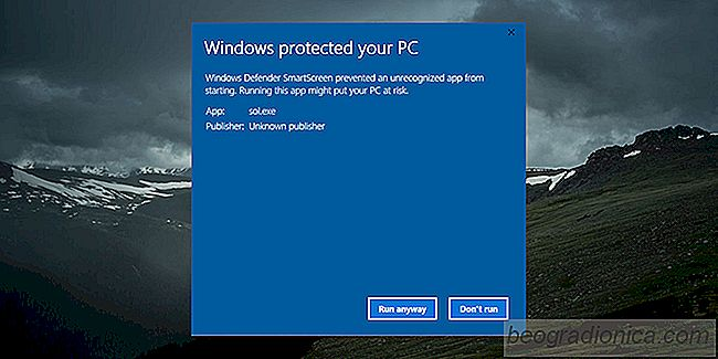 Whitelist-Apps im SmartScreen unter Windows 10